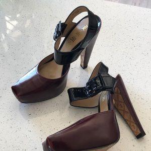 L.A.M.B. Gwen Stefani Hamura Platform heels